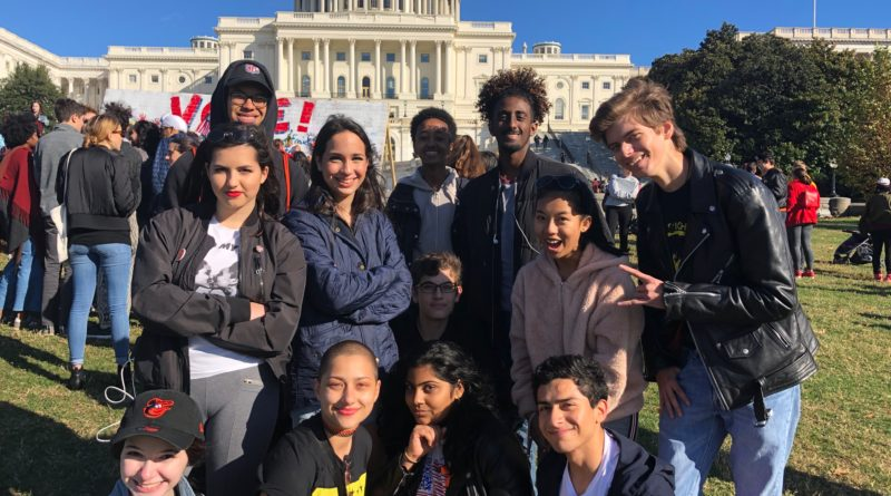 Senior Ruby Brayton receives award for student activist efforts