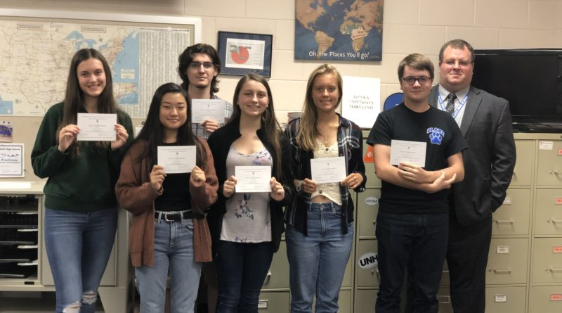 Seven Super Seniors Commended for High PSAT Score