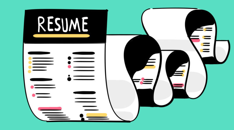 Secure That Bag, But First Write a Resume