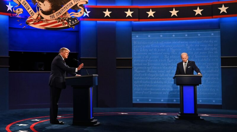 Recapping and Fact Checking the Last Presidential Debate of 2020