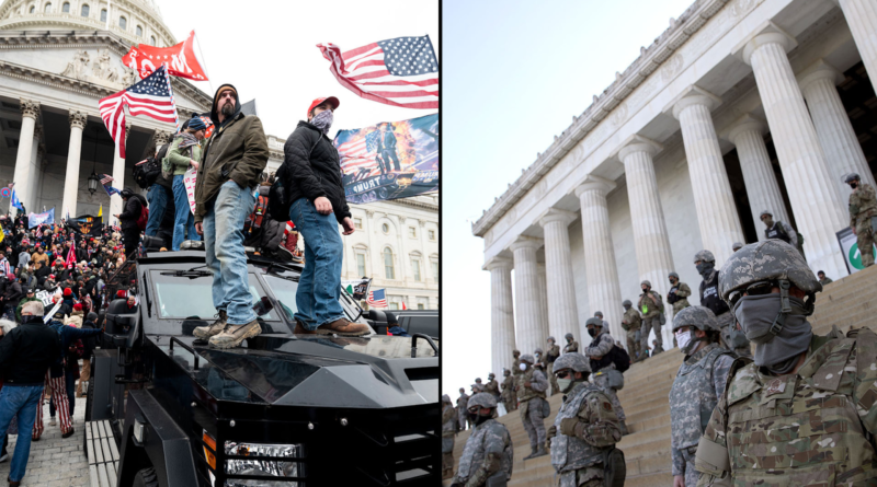 Capitol Insurrection vs Black Lives Matter Protests: Police Response